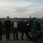 Our Group - Adril, Kurt, Anthony, Sandrine, Marketa, Mach, Eilis